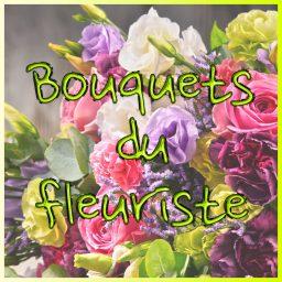 Bouquets ronds du fleuriste