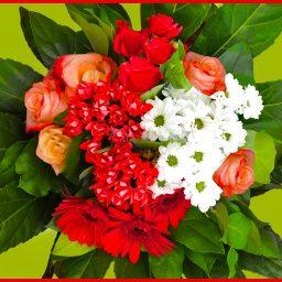 Bouquet rouge Autant de Fleurs Aubagne